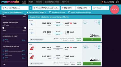 Cómo buscar los vuelos más baratos a Moscú y San Petersburgo