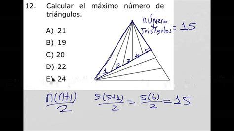 Como calcular el máximo número de triángulos en una figura ...