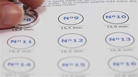 Cómo calcular la talla de un anillo - Navas Joyeros - YouTube