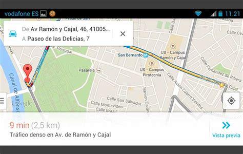 Cómo calcular una ruta con el nuevo Google Maps | Mobility