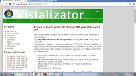 como cambiar el idioma de ingles a español en windows 7 ...