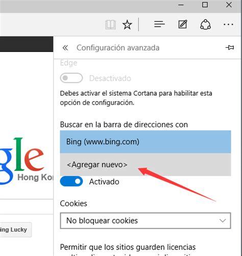 Cómo cambiar el motor de búsqueda predeterminado de ...