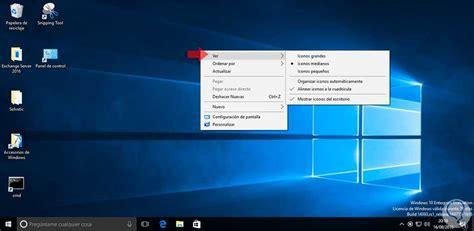 Cómo cambiar el tamaño de los iconos en Windows 10 - Solvetic