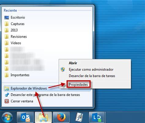 Cómo cambiar la carpeta por defecto del Explorador de Windows