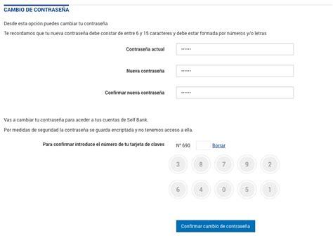 ¿Cómo cambiar la contraseña en Openbank, Coinc, Uno e ...