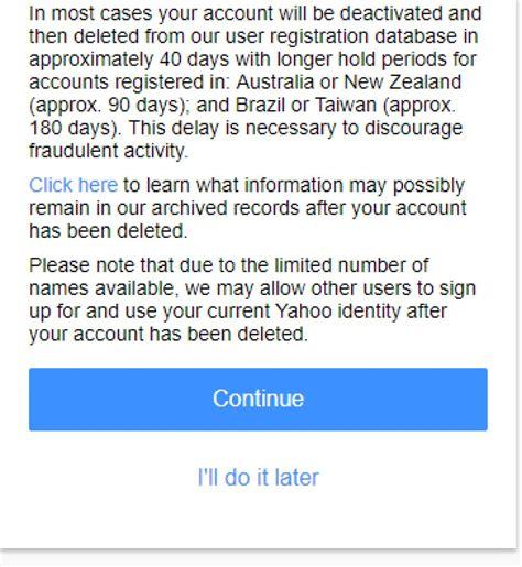 Cómo cancelar definitivamente tu cuenta de Yahoo Mail   Qore