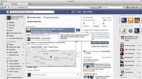 Como compartir mi ubicación en facebook   Compartir mi ...