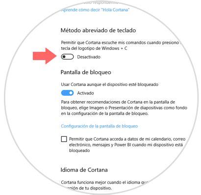 Cómo configurar ajustes Cortana Windows 10 Fall Creators ...