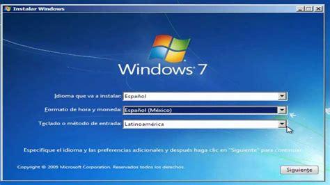 Como configurar el BIOS e Instalar Windows 7   YouTube