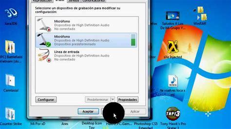 Como Configurar Microfono en windows7 Explicado Muy Bien ...
