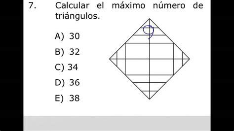 Como contar triángulos usando fórmula, conteo de figuras ...