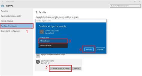 Como convertir una cuenta de usuario estándar en ...