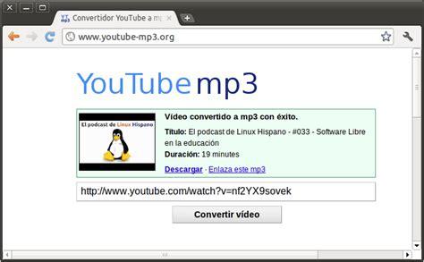 COMO CONVERTIR VIDEOS DE YOUTUDE A MP3 | tutogalo pc