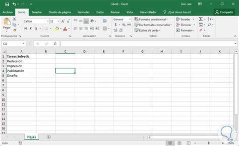 Cómo crear checklist en Excel 2016   Solvetic