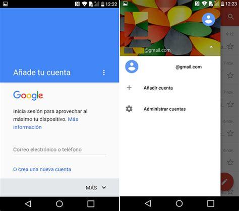 Cómo crear o eliminar una cuenta de Gmail en el móvil ...