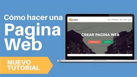 Como Crear Pagina Web 2017 - Tutorial Wordpress Español ...