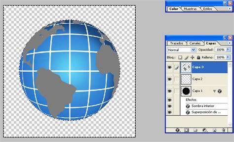 como crear una bola del mundo con photoshop   Arte   Taringa!