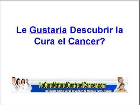 Como Curar el Cancer de estomago - YouTube