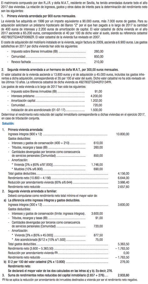 Cómo declarar el alquiler en la renta 2017   Caseros ...