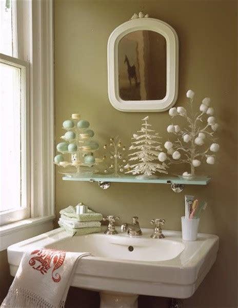 Cómo decorar el baño para Navidad   EspacioHogar.com