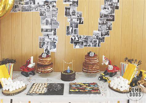 Como decorar un 40 cumpleaños para él - Comodoos Interiores