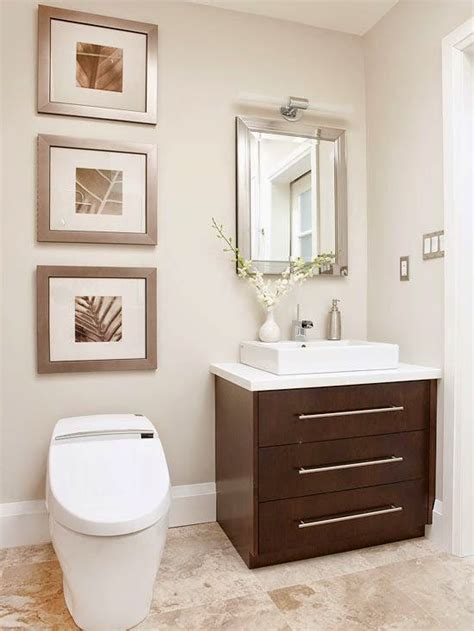 Como decorar un baño pequeño con estilo moderno   Mujeres ...