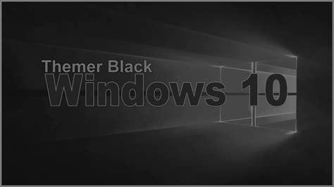 Como Deixar o Tema Do Windows 10 Completamente Black   YouTube