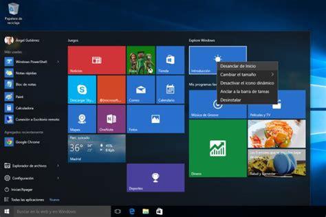 Como desactivar programas que inician con Windows 10
