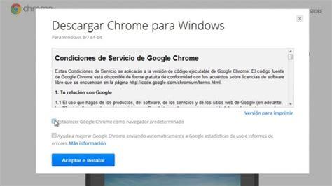 Cómo descargar e instalar Google Chrome 64 bits