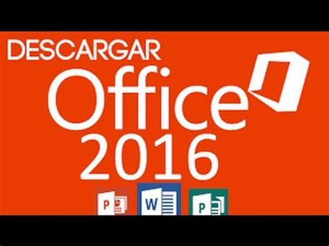 Como Descargar e Instalar Office 2016 Full en Español Para ...
