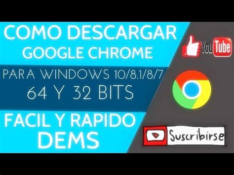 Como descargar Google Chrome para windows 8.1 | Doovi
