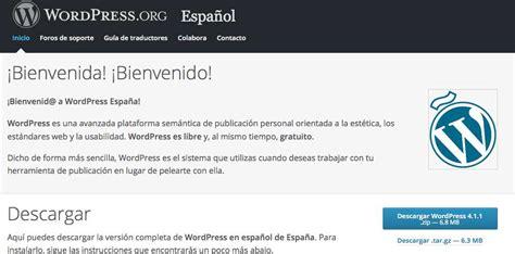Cómo descargar, instalar y configurar WordPress
