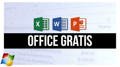 Cómo descargar OFFICE GRATIS 100% LEGAL  Para Windows ...