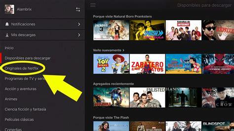 Cómo descargar películas y series de Netflix (Android ...