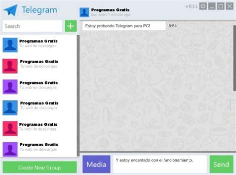 Cómo descargar Telegram para PC