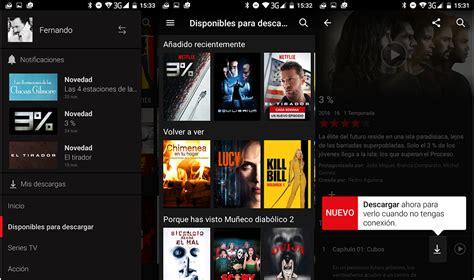 Como descargar y guardar series de Netflix en la tarjeta SD