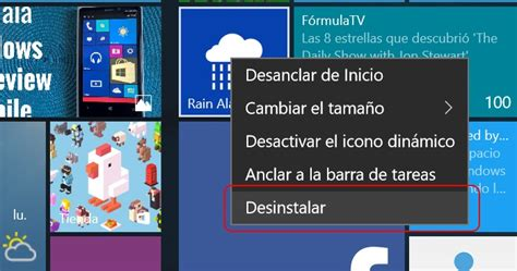Cómo desinstalar aplicaciones en Windows 10 para PC