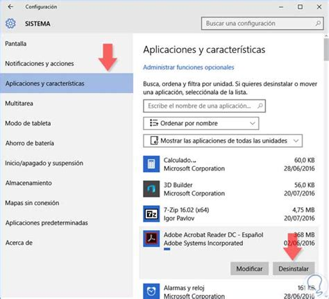 Cómo desinstalar programas en Windows 10 - Solvetic