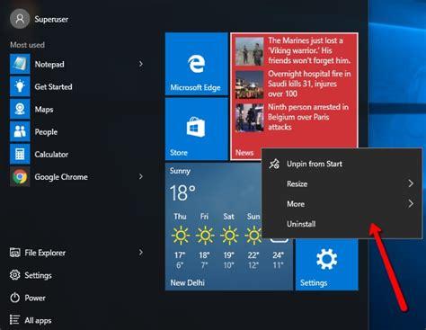 Cómo desinstalar programas y aplicaciones en Windows 10 ...