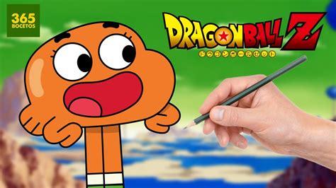 COMO DIBUJAR A DARWIN DE GUMBALL AL ESTILO DRAGON BALL ...