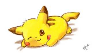 Como dibujar a Pikachu kawaii/Pokemon   YouTube