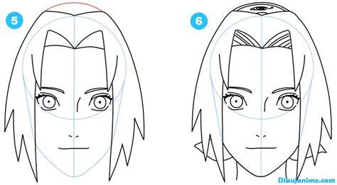 Como dibujar a Sakura Haruno  Shippuden  Paso a paso ...