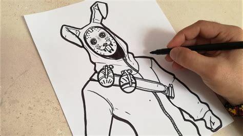 COMO DIBUJAR AL CONEJO SAQUEADOR DE FORTNITE | how to draw ...