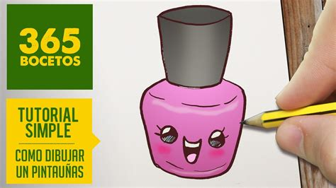 como dibujar kawaii pintauñas   Google Search | los vídeos ...