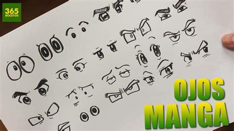 COMO DIBUJAR OJOS ANIME - COMO DIBUJAR OJOS MANGA - How to ...
