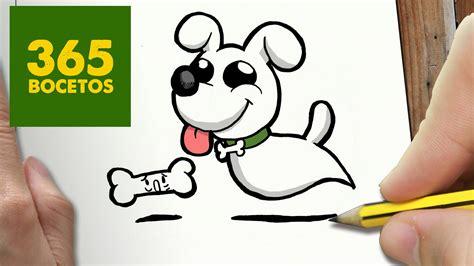 Como dibujar perro fantasma kawaii paso a paso dibujos ...