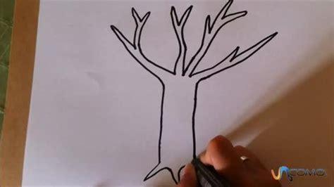 Cómo dibujar un árbol de dibujo animado   unComo