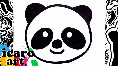 como dibujar un emoji | how to draw emojis | panda - YouTube