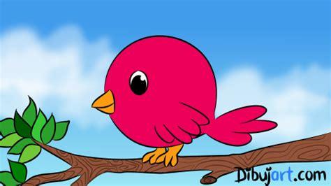 Cómo dibujar un Pájaro tierno | dibujart.com
