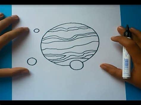 Como dibujar un planeta paso a paso   How to draw a planet ...